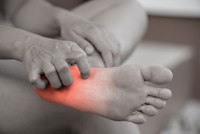 orthotics foot pain